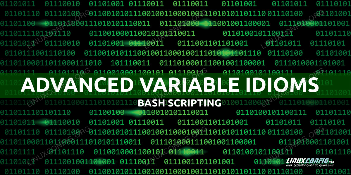 Bash Advanced Variable Idioms for Case Sensitivity Management