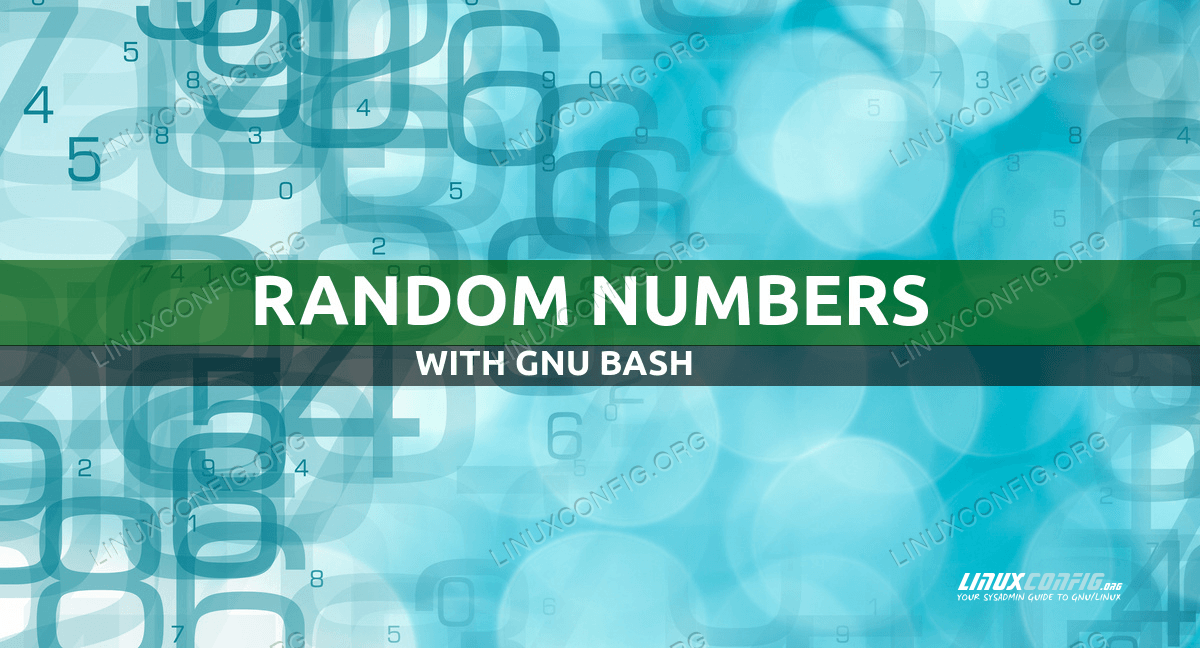 Generating Random Numbers In Bash With Examples