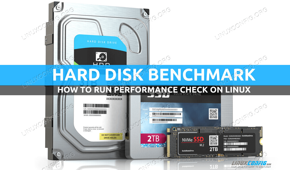 How to benchmark Disk performance on Linux
