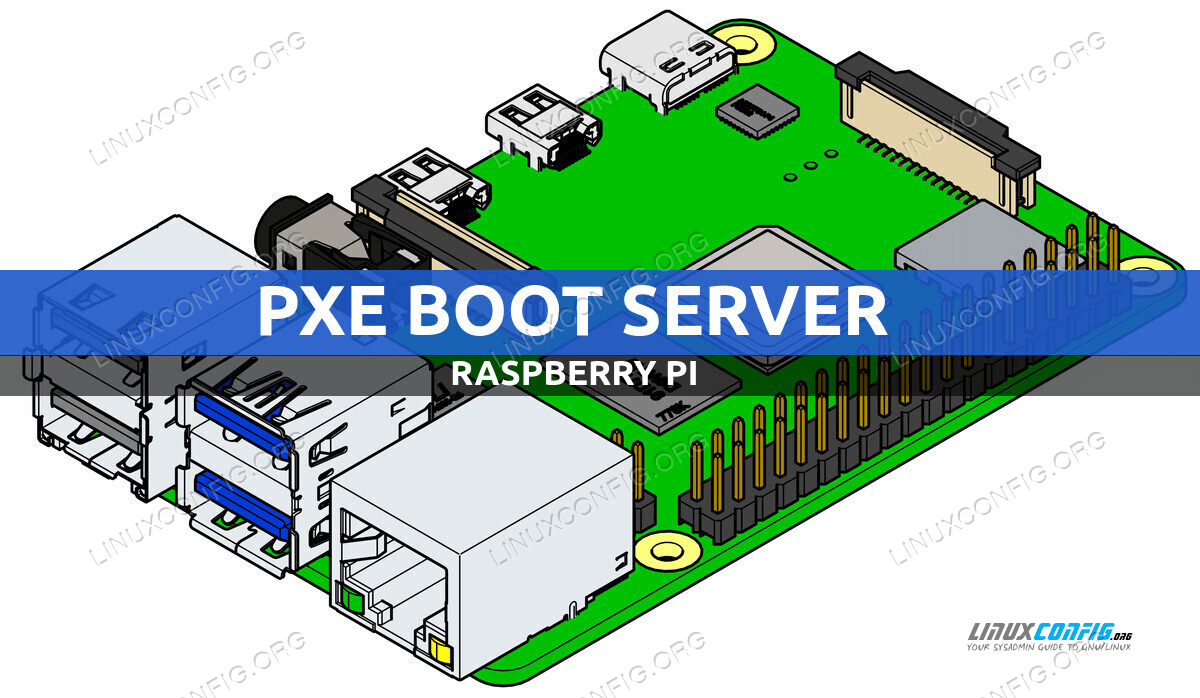 Raspberry Pi as a PXE boot server