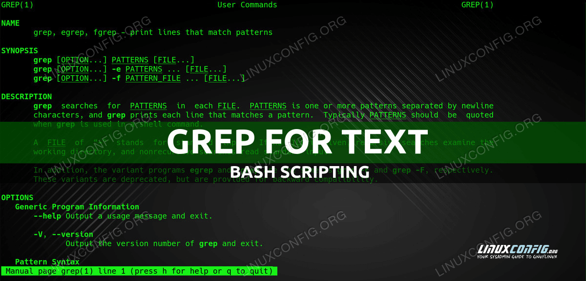 How to Correctly Grep for Text in Bash Scripts