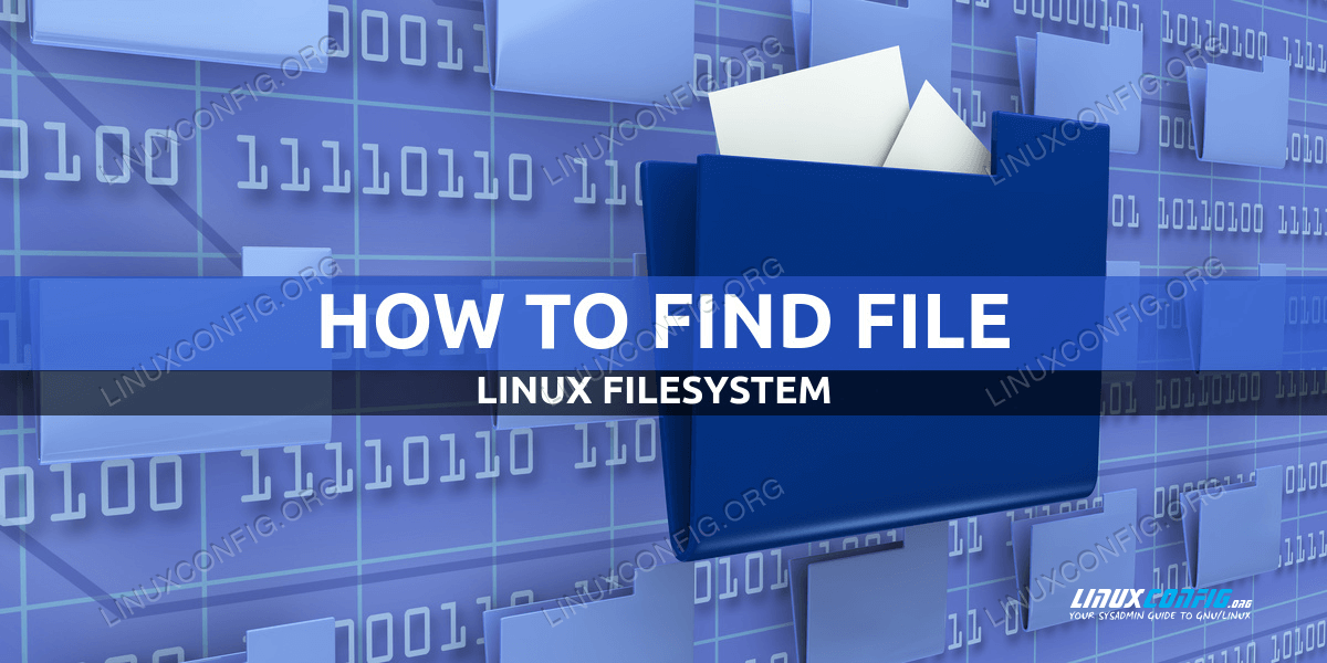 How to find file in Linux
