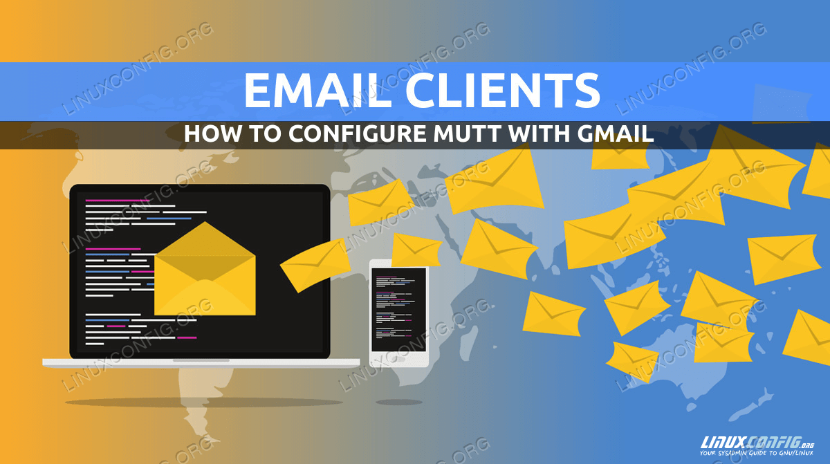 How to install, configure, and use mutt with a gmail account on Linux