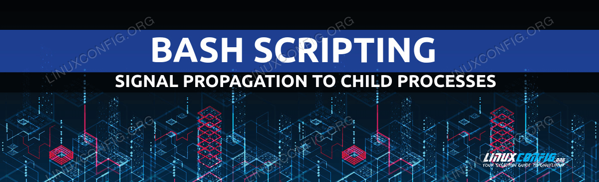 How to propagate a signal to child processes from a Bash script