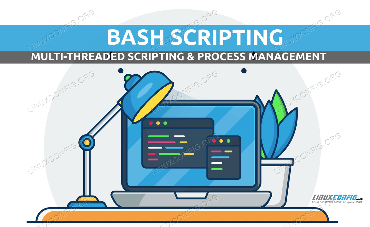 Multi-threaded Bash scripting & process management