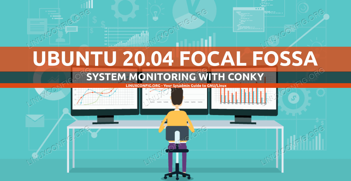 Conky system monitoring on Ubuntu 20.04