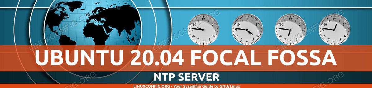 Ubuntu 20.04 NTP server