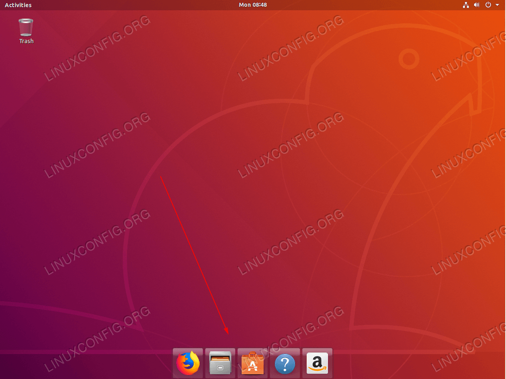 Custom Dock panel on Ubuntu 18.04 Bionic Beaver Desktop