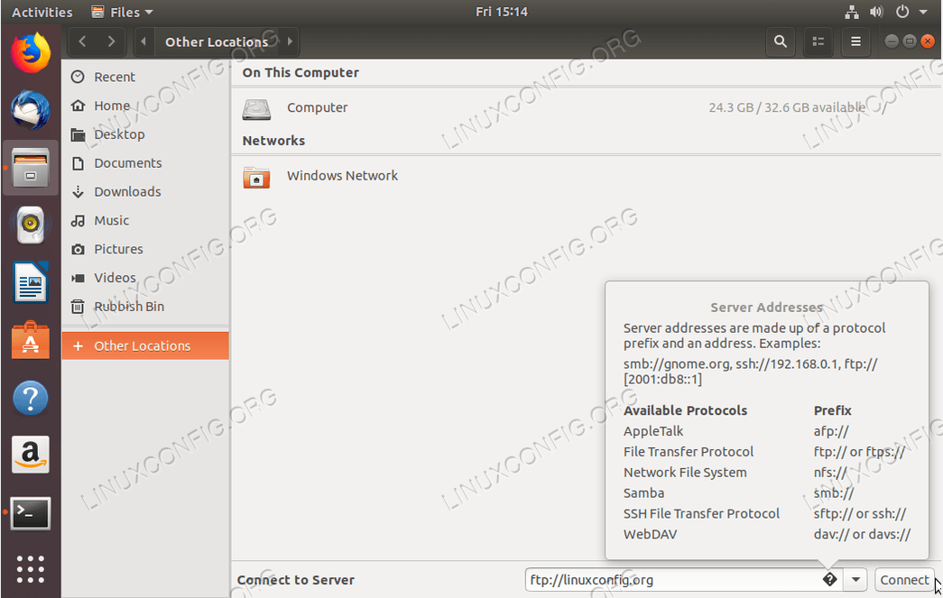 How To Install Ftp Client For Ubuntu 18 04 Bionic Beaver Linux Linuxconfig Org