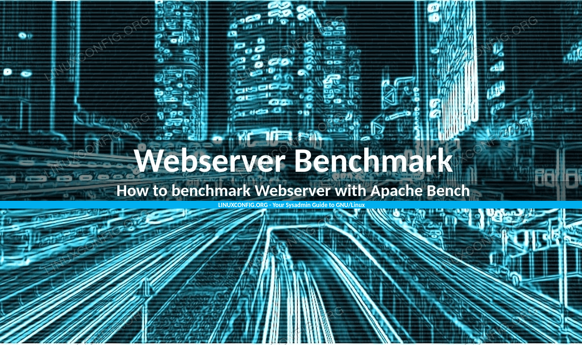 How to benchmark Webserver with Apache Bench