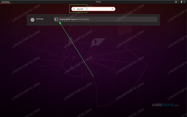 Open gnome-tweaks tool