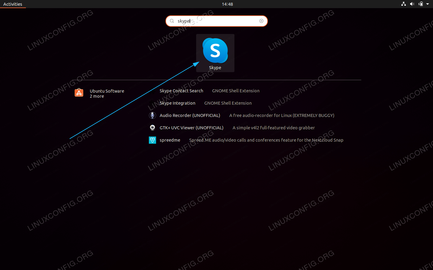 Start Skype on Ubuntu 20.04 Focal Fossa Linux