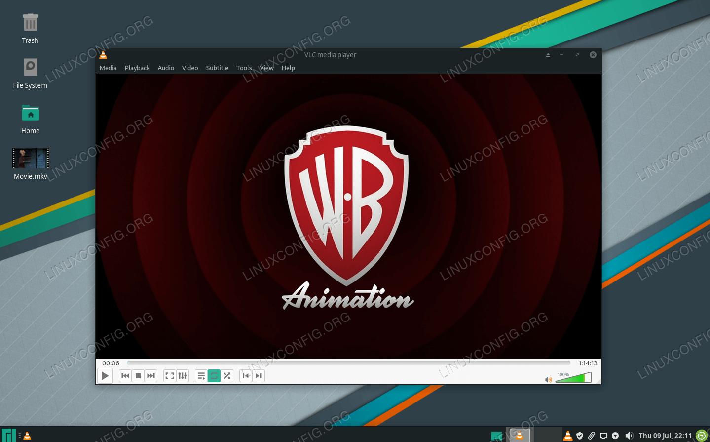 VLC Player on Manjaro Linux