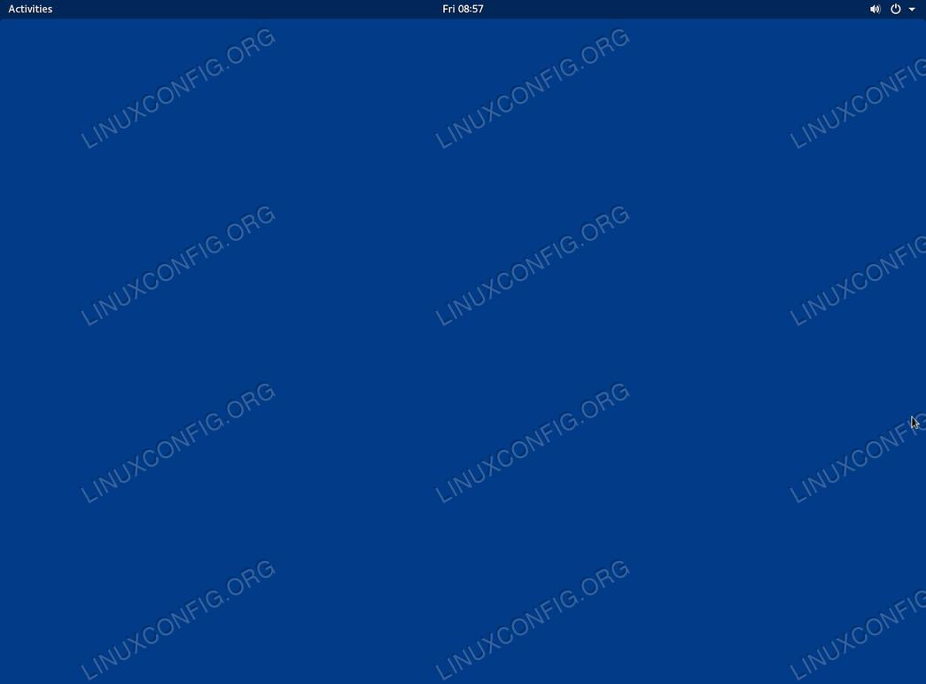 Gnome Vanilla - Ubuntu 18.04