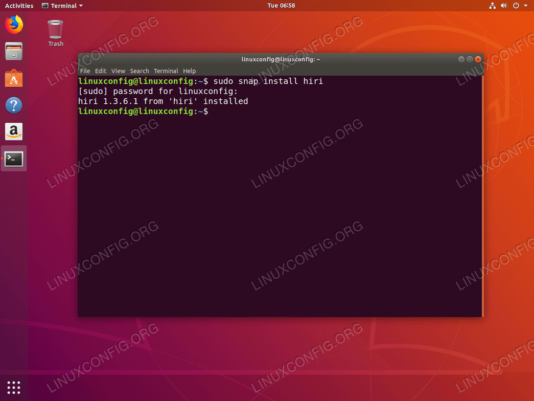 How to install Hiri on Ubuntu 18 04 Bionic Beaver Linux