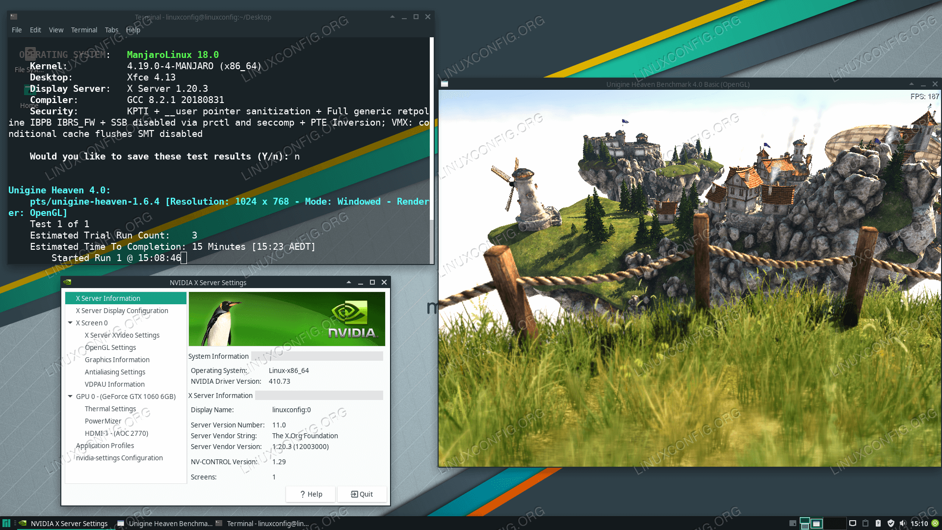 How to install the NVIDIA drivers on Manjaro 18 Linux