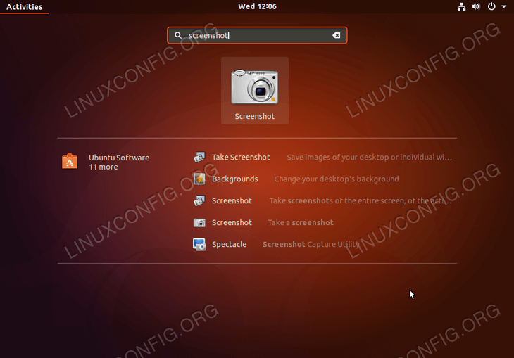 How to take a screenshot on Ubuntu 18 04 Bionic Beaver Linux