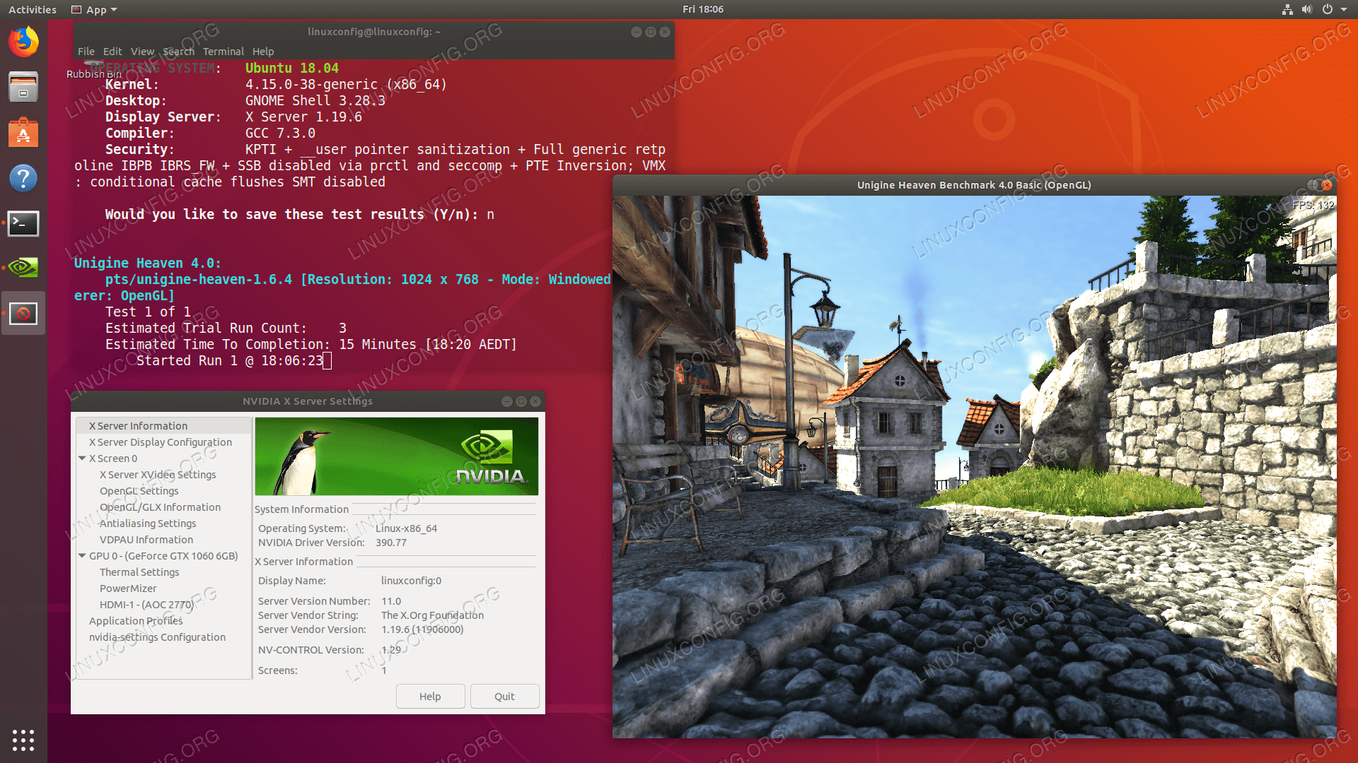 How to install the NVIDIA drivers on Ubuntu 18 04 Bionic