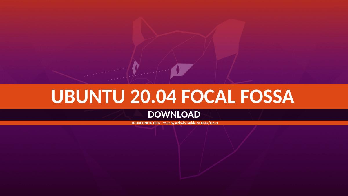 Ubuntu 20.04 Download