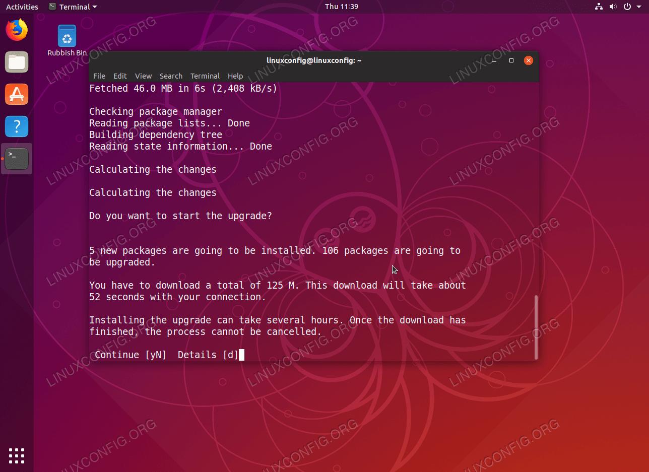 How To Upgrade Ubuntu To 19 04 Disco Dingo - LinuxConfig org