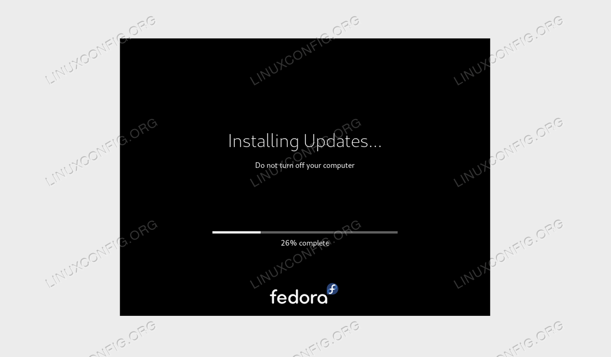 Fedora 30 Workstation to Fedora 31 Upgrade