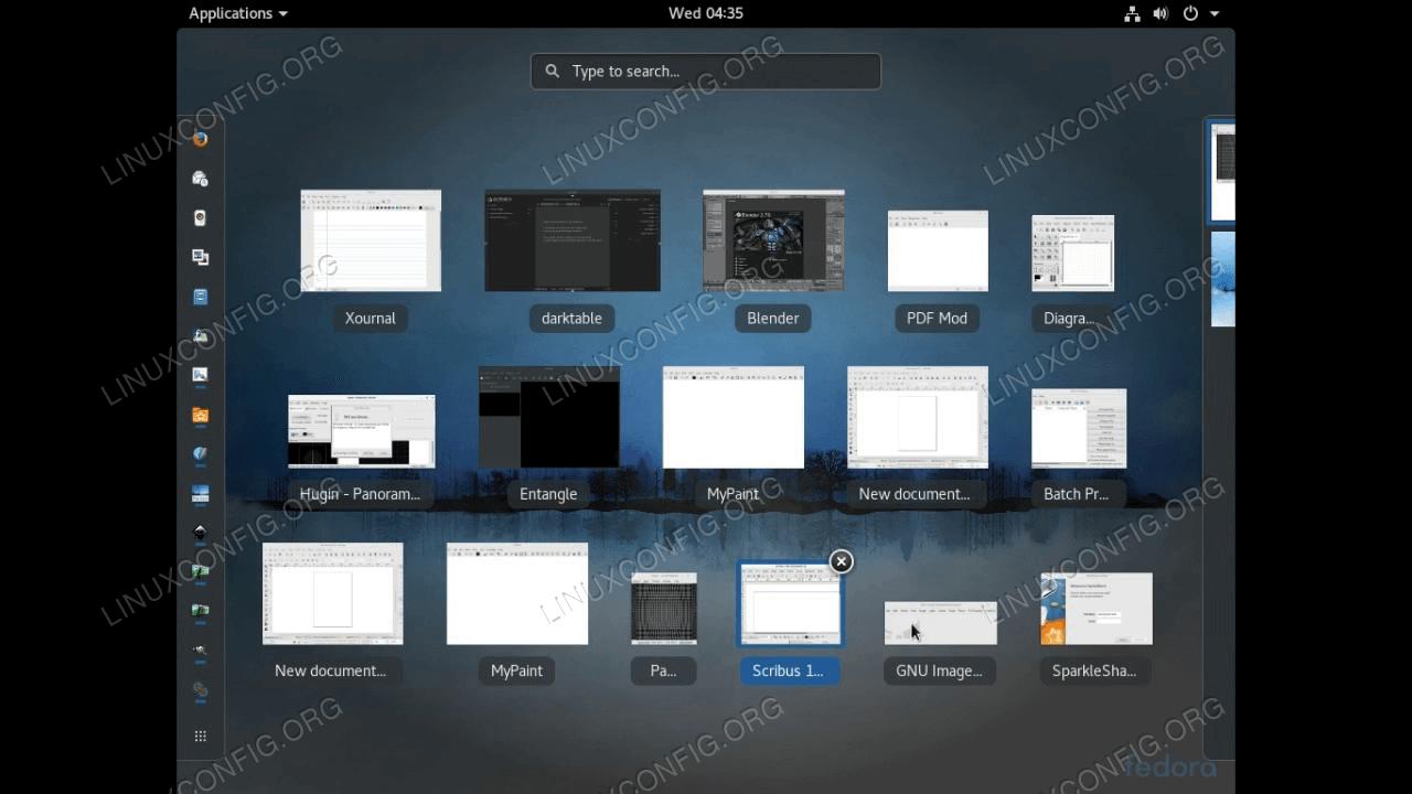Fedora Design Suite