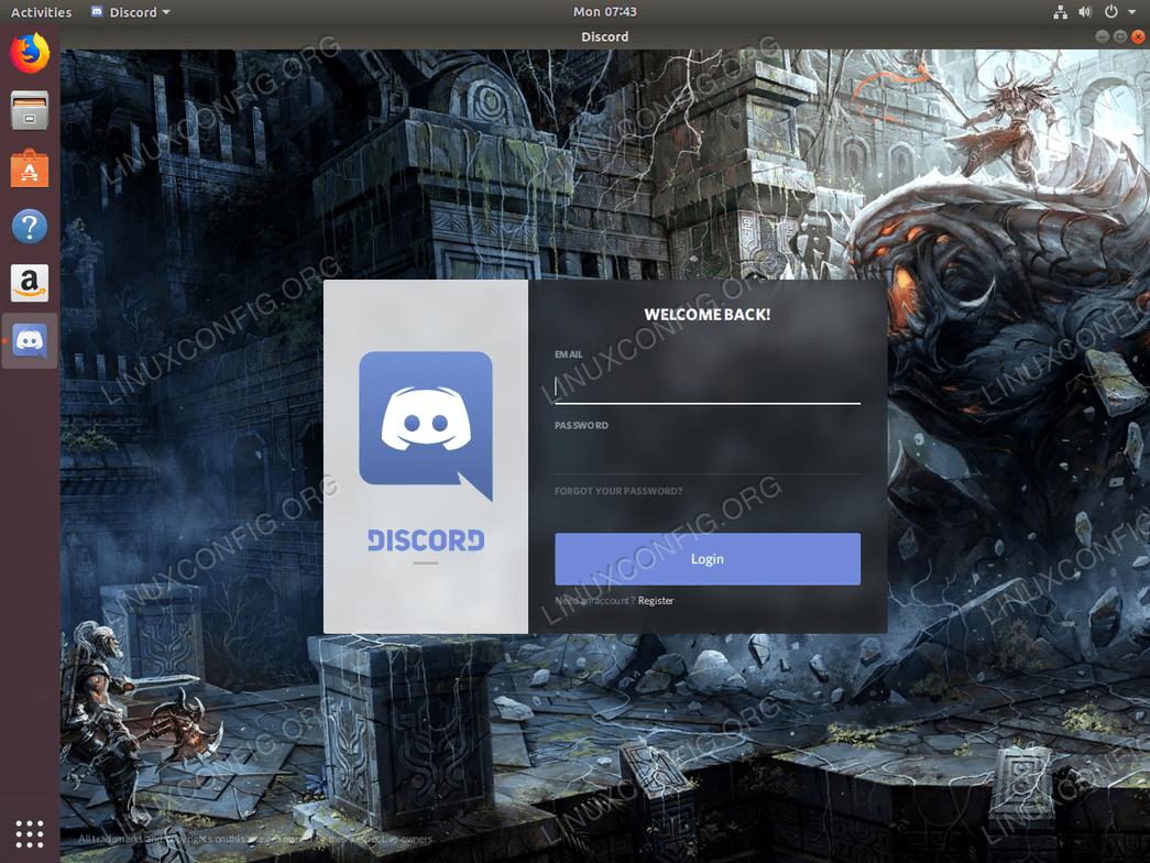 how to install discord on ubuntu 18 04 bionic beaver linux