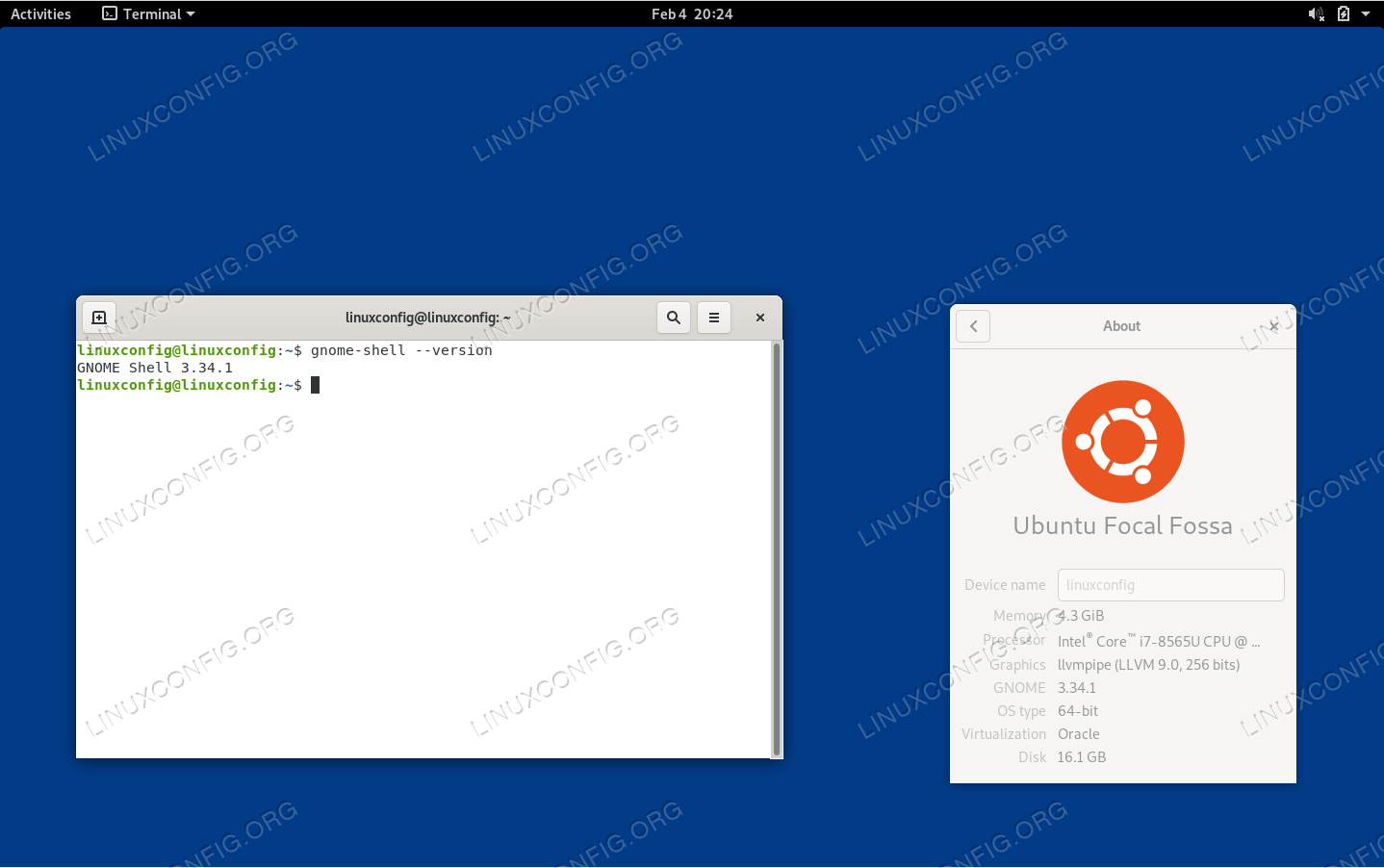 Minimal Gnome Shell installation on Ubuntu 20.04 Focal Fossa Linux