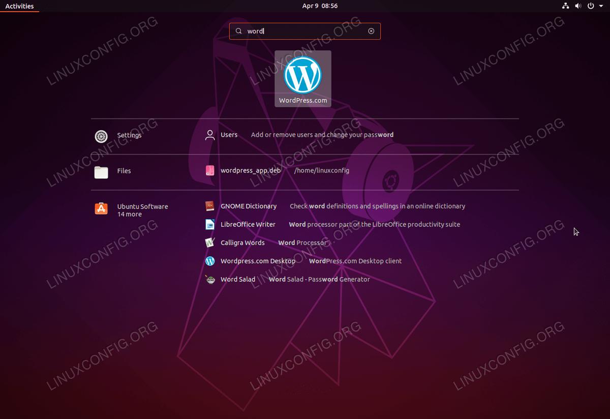 Wordpress Desktop Client on Ubuntu Linux