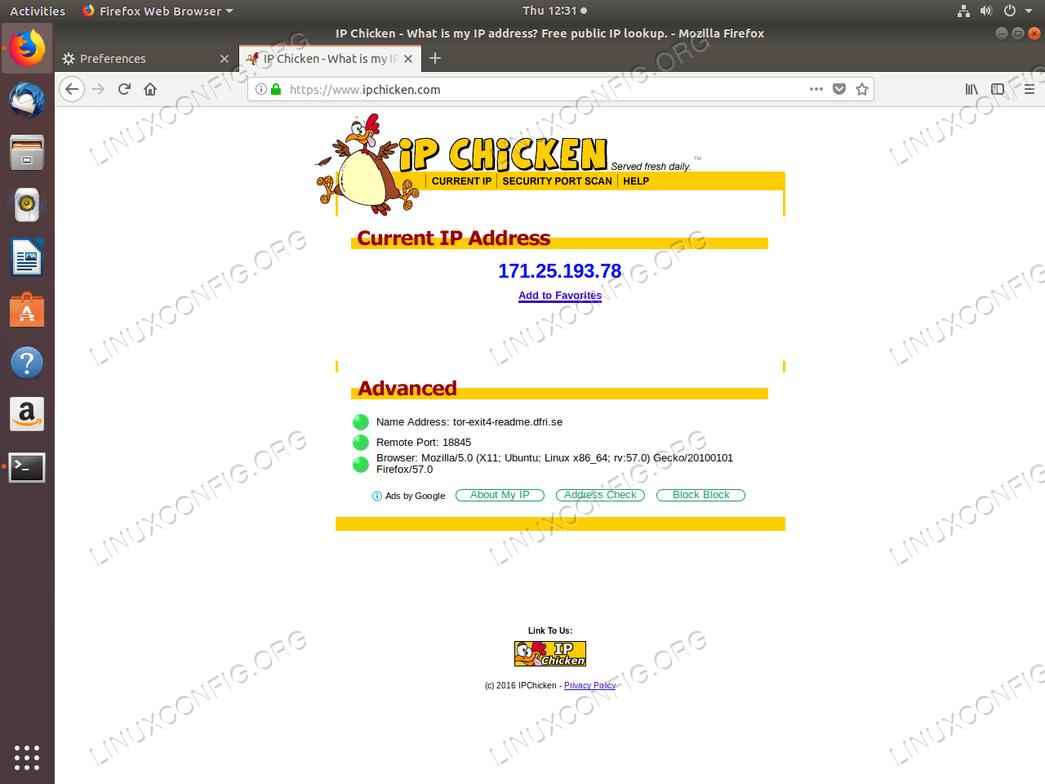 Install Tor on Ubuntu 18 04 Bionic Beaver Linux - LinuxConfig org