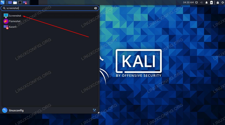 Every GUI has a default screenshot utility you can open