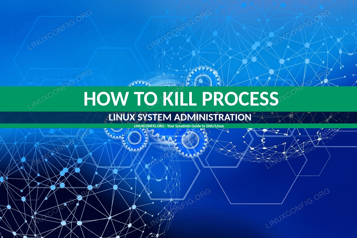 How to Kill a Running Process on Linux