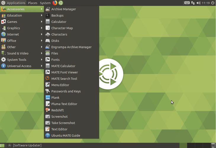 Mate Desktop on Ubuntu 18.04
