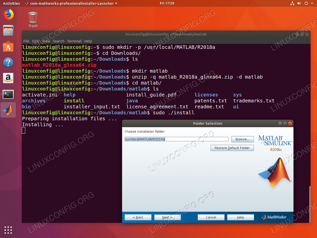 Matlab full version linux download.