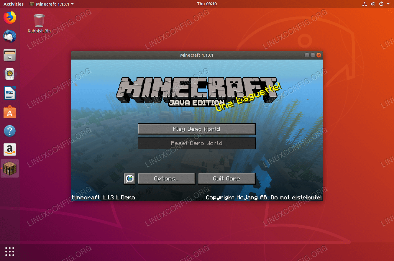 How To Install Minecraft On Ubuntu 1804 Bionic Beaver Linux