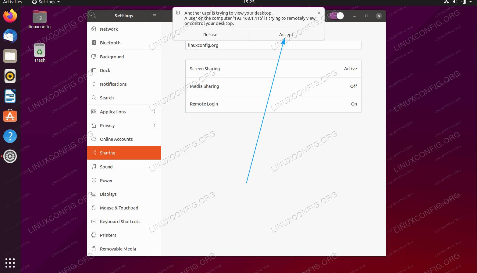 Ubuntu 20.04 Remote Desktop Setup