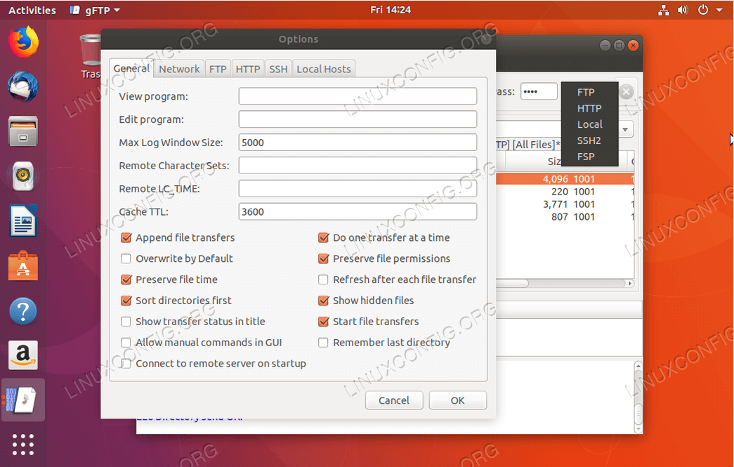 How to install FTP client for Ubuntu 18 04 Bionic Beaver Linux