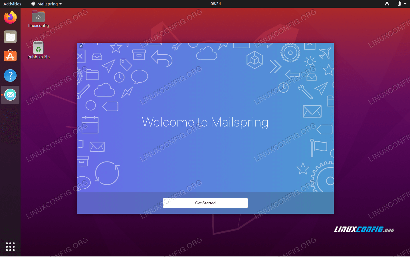 Mailspring installation on Ubuntu 20.04 Focal Fossa