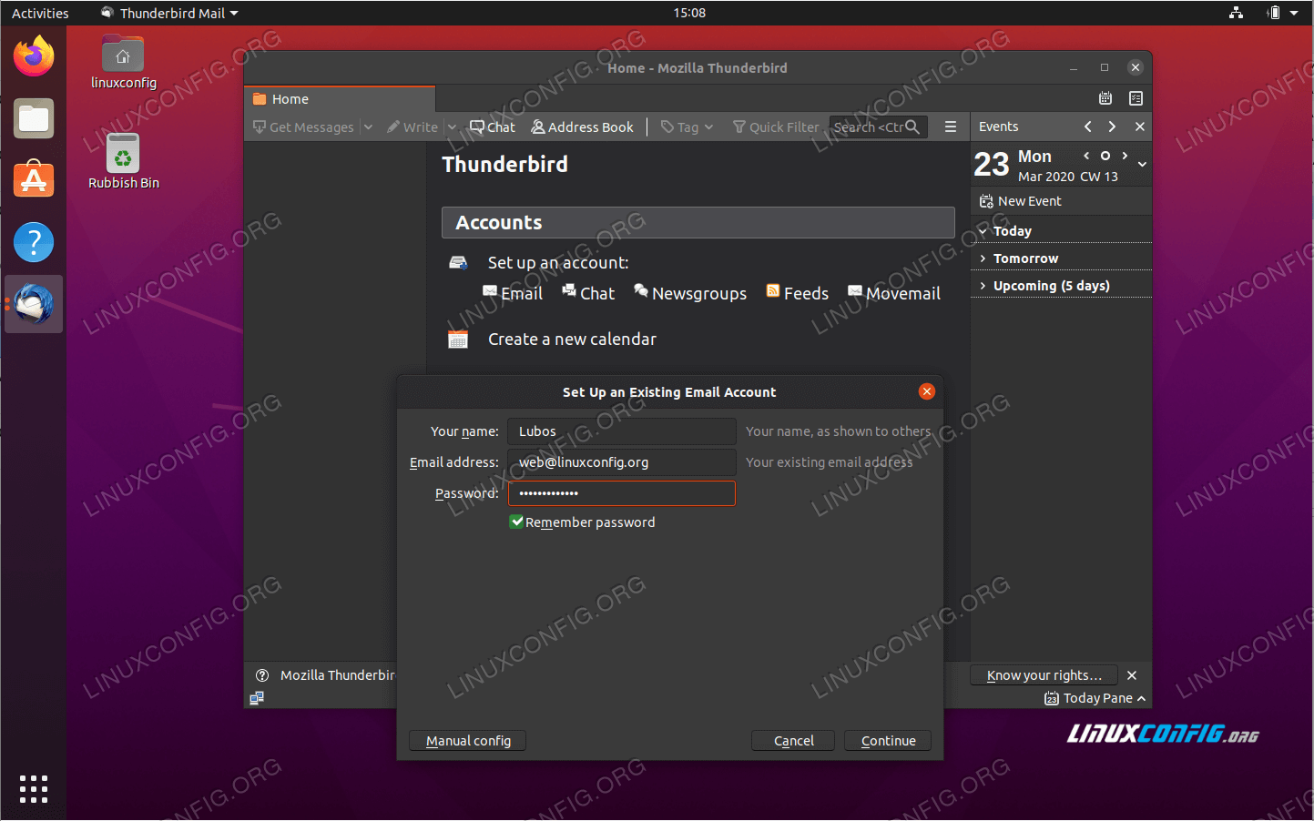 Thunderbird installation on Ubuntu 20.04 Focal Fossa
