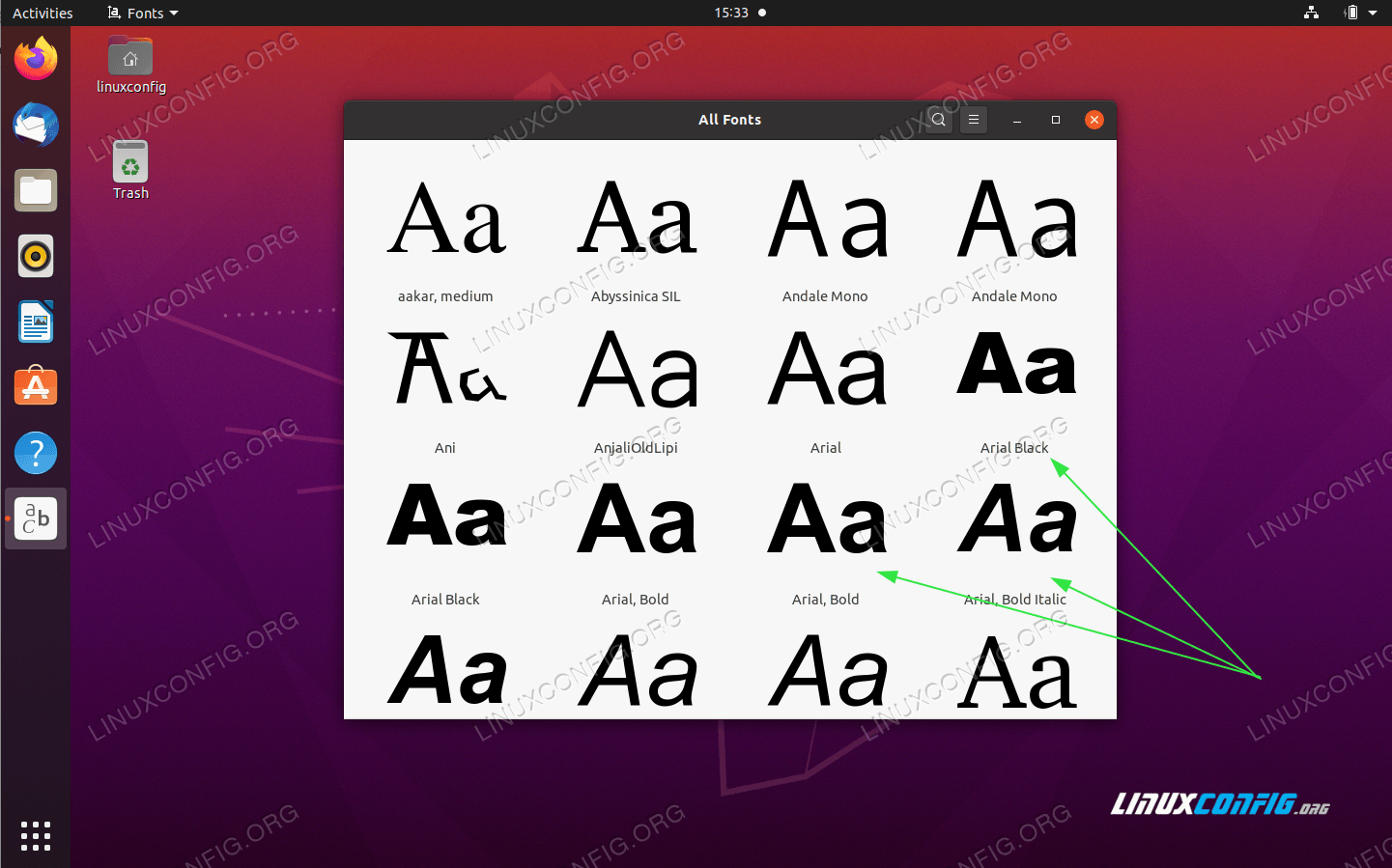 Confirm that Microsoft fonts are installed