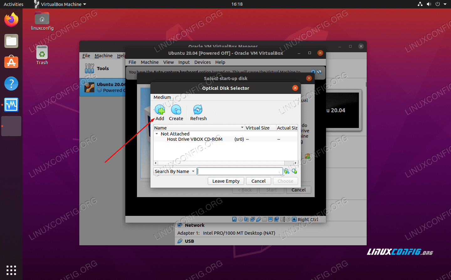 Add the Ubuntu 20.04 ISO install image