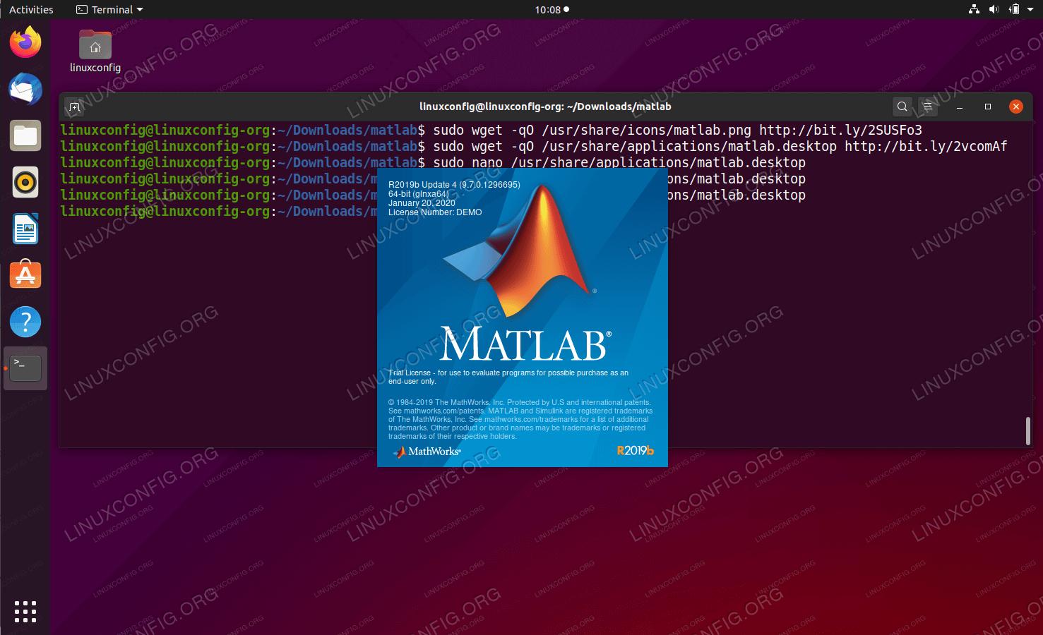 Matlab is starting