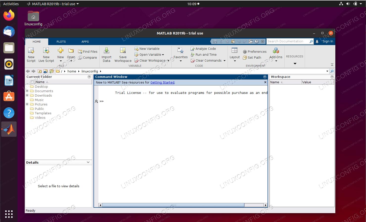 How to install MATLAB on Ubuntu 20.04 Focal Fossa Linux