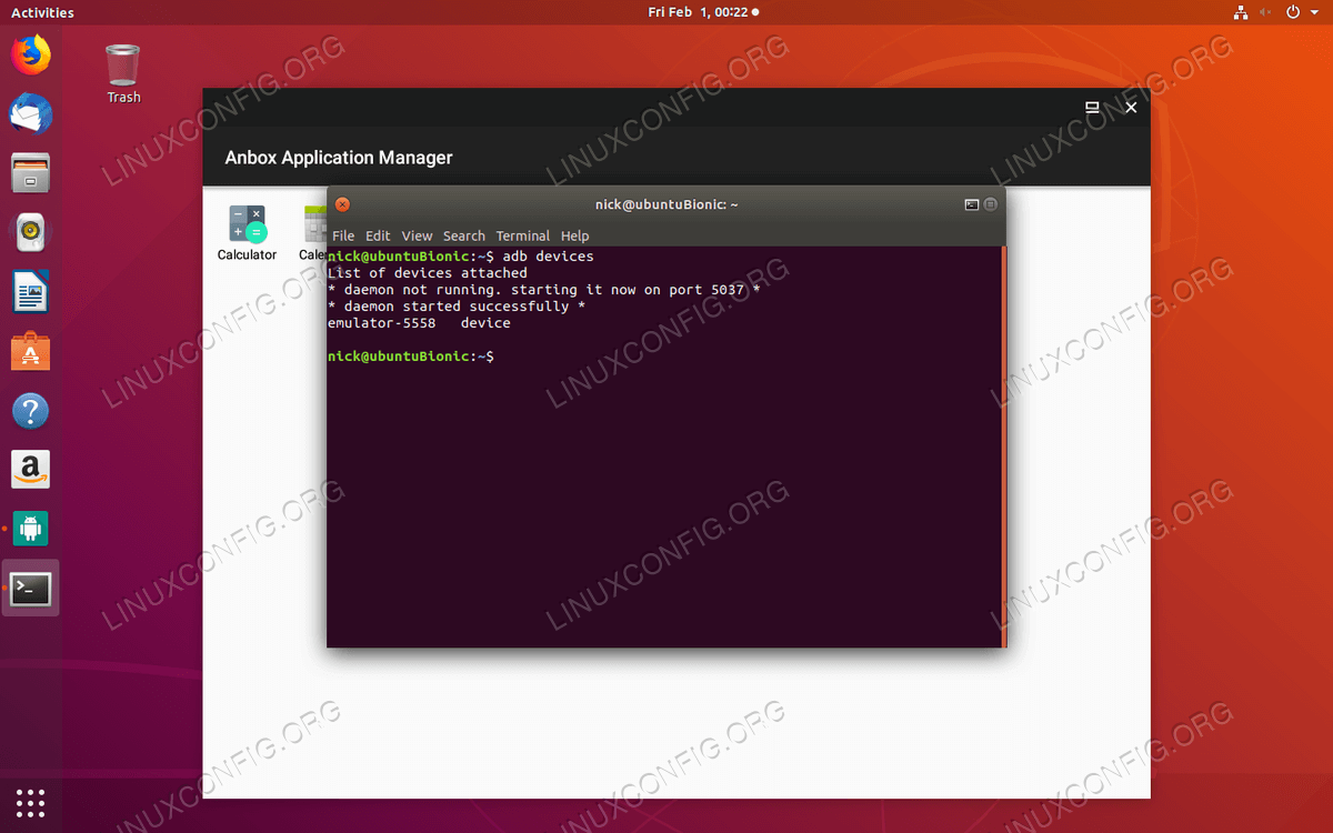 How To Install Anbox and Run Android Apps In Linux - LinuxConfig org