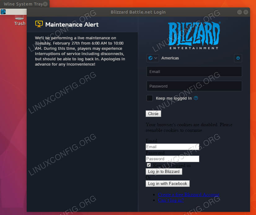 How to Install Blizzard Battle net App on Ubuntu 18 04