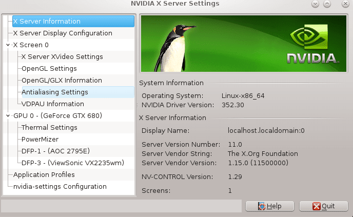 NVIDIA GeForce Driver Installation on CentOS 7 Linux 64-bit