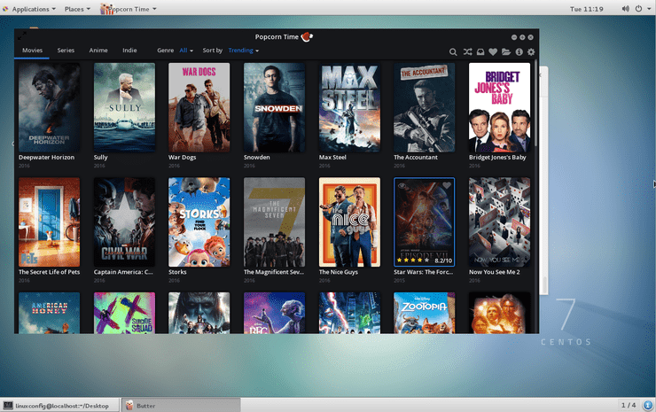 How to install Popcorn Time movie player on CentOS 7 Linux