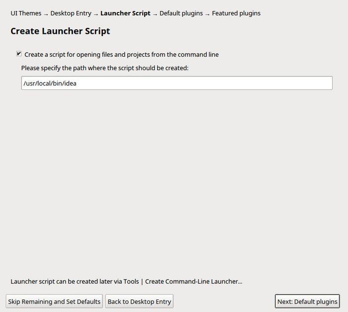 Installing Intellij IDEA for Scala development on Linux