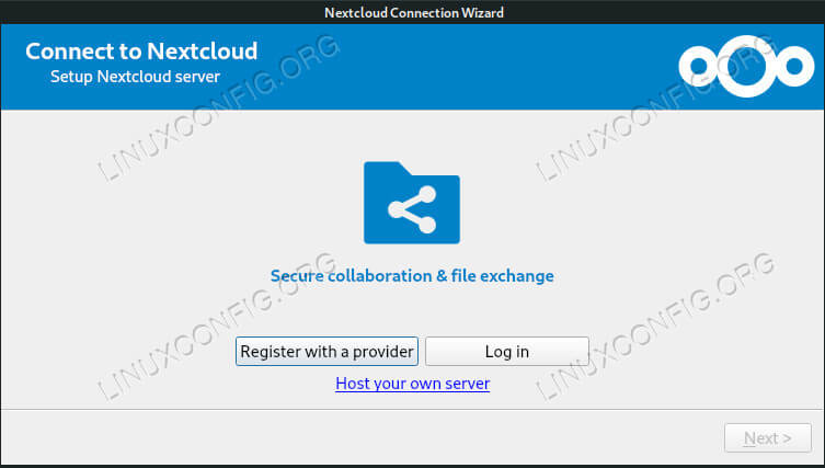 How to Install Nextcloud Client on Debian 10 Buster