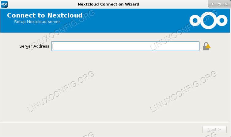 Nextcloud Client on Debian